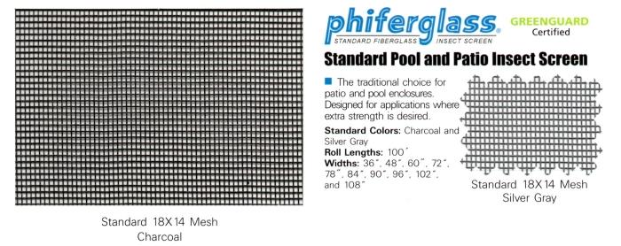 standard 18x14 Fiberglass Mesh